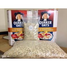 Nửa thùng yến mạch Quaker Oats nguyên chất (dạng cán dẹp) 2.26kg