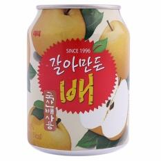 Nước ép Lê Nguyên Chất Hàn Quốc 238ml/Lon
