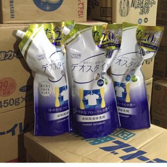 Nước giặt khử mùi chứa ion Ag+ _Túi 1.65kg Nhật Bản