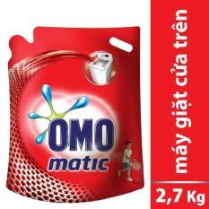 Nước giặt OMO Mactic cửa trên 2.7 kg ( túi )