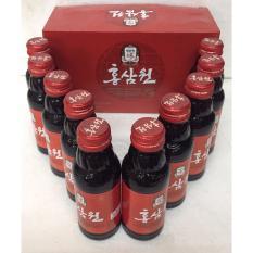 Nước Hồng Sâm KGC Phục hồi sức khỏe bộ 10 chai