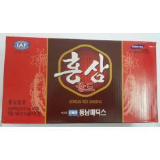 Nước hồng sâm Hàn quốc hộp 10 chai x 100ml