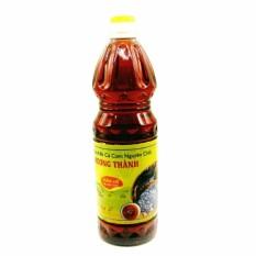 Bộ 06 Chai nước mắm cốt nhĩ cá cơm nguyên chất Hương Thành 1 lít