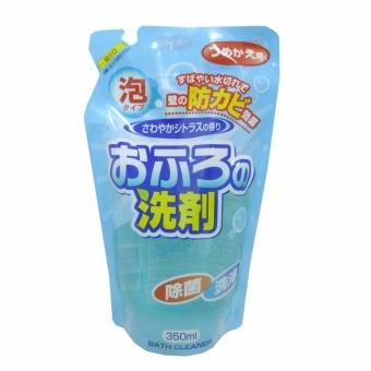Nước tẩy rửa bồn tắm dạng bọt khử nấm mốc hương Chanh - 350ml (dạngrefill)
