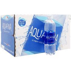 Nước tinh khiết Aquafina thùng 24 chai x 500ml