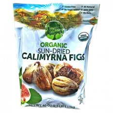 Quả sung sấy khô Happy Village Organic Sun-Dried Figs 1.13 kg