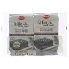 So Sánh Giá Rong biển ăn liền vị oliu Miwon 9g(4.5g x2 gói) – bachhoa365
