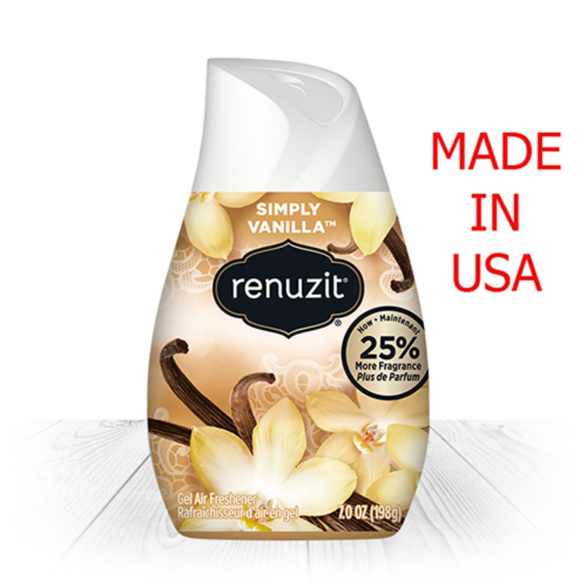 Giá Niêm Yết Sáp thơm Renuzit Simply Vanilla 198g