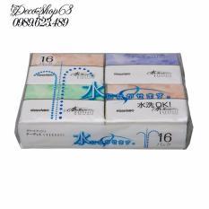 Set 16 gói khăn giấy ăn bỏ túi Nhập khẩu từ Nhật giá tốt