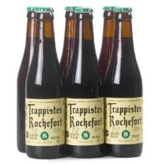 Set 6 chai Bia Rocherfort 8 từ Bỉ
