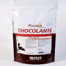 Socola đen nguyên chất 75% 1kg