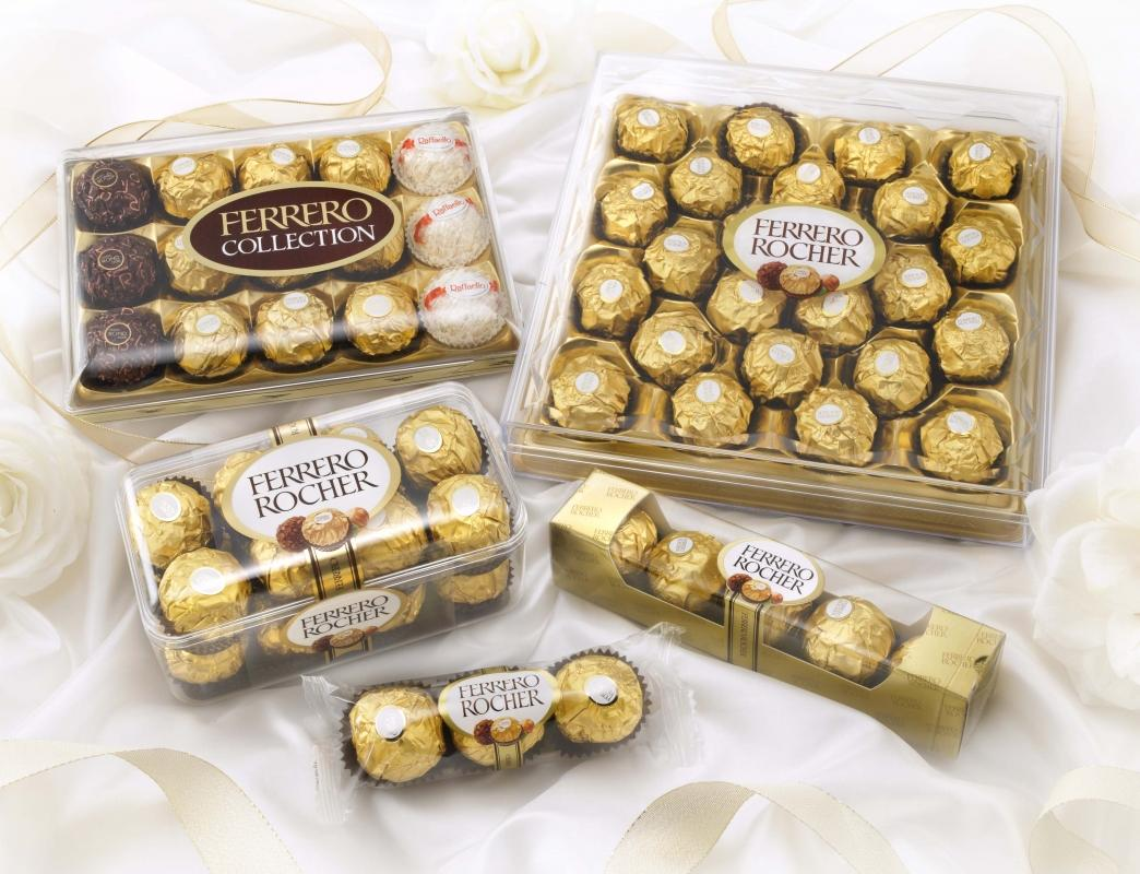 Chi tiết sản phẩm Socola hạt dẻ Ferrero Rocher hộp nhựa 200g (Hộp)