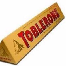 Socola sữa mật ong hạnh nhân thanh Toblerone Thụy Sĩ