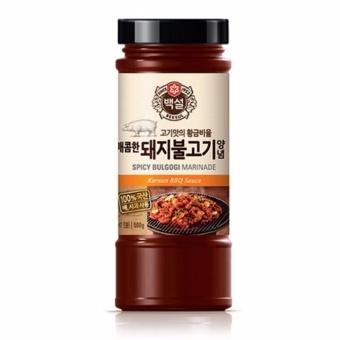 Sốt BBQ Thịt Heo Cay Hàn Quốc Nhập Khẩu 290g
