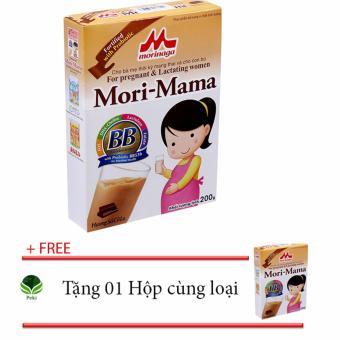 Sữa bầu Mori-mama 200g - Vị socola + Tặng 01 Hộp cùng loại