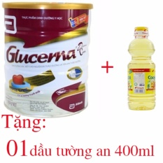 Sữa bột Abbott Glucerna Hương Vani 850g