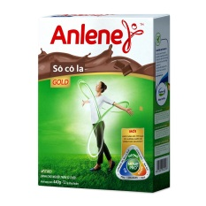 Sữa bột Anlene Gold Movepro hương sô cô la 440g (Hộp giấy)