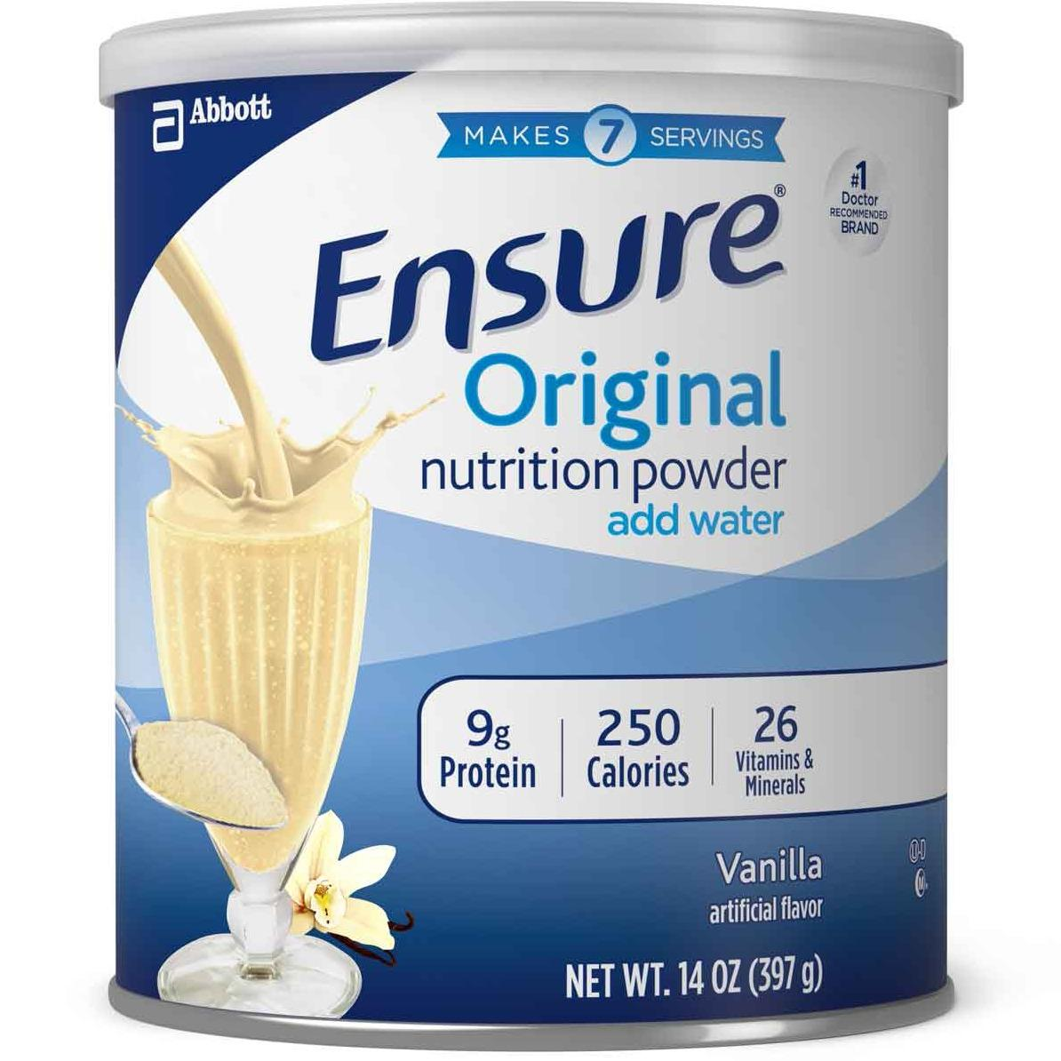 Sữa bột Ensure Mỹ Original Nutrition Powder 397g