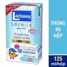 Sữa đậu nành Lactasoy nguyên chất 125 ml