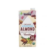 Sữa hạnh nhân vani hữu cơ không đường Kirkland 946ml
