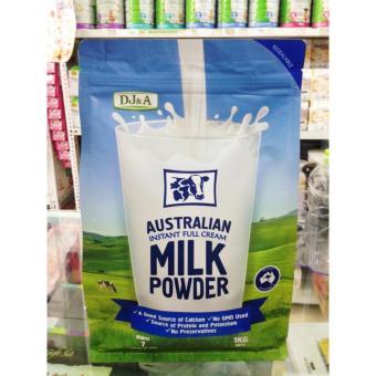 Sữa tươi dạng bột nguyên kem NON GMO Úc 1kg