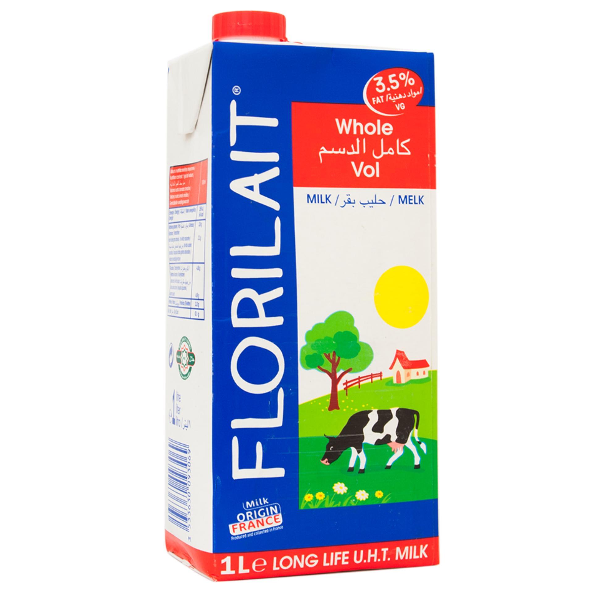 Sữa Tươi Nguyên Kem Florilait Pháp