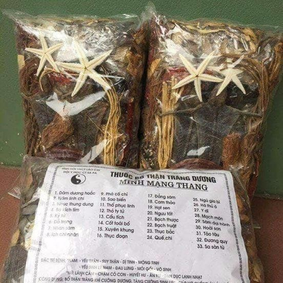 Giá bán Thang Minh Mạng 2kg 33 vị