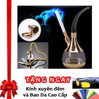 Tẩu lọc thuốc lá đa năng 2 in 1 an toàn cho sức khỏe F142 (Vàng) + Tặng kính xuyên đêm và bao da cao cấp - 8660605 , OE680WNAA4Z9ZVVNAMZ-9177085 , 224_OE680WNAA4Z9ZVVNAMZ-9177085 , 370000 , Tau-loc-thuoc-la-da-nang-2-in-1-an-toan-cho-suc-khoe-F142-Vang-Tang-kinh-xuyen-dem-va-bao-da-cao-cap-224_OE680WNAA4Z9ZVVNAMZ-9177085 , lazada.vn , Tẩu lọc thuốc lá đa năng