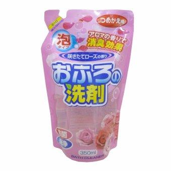 Tẩy bồn tắm hương hoa hồng - 350ml (dạng refill)