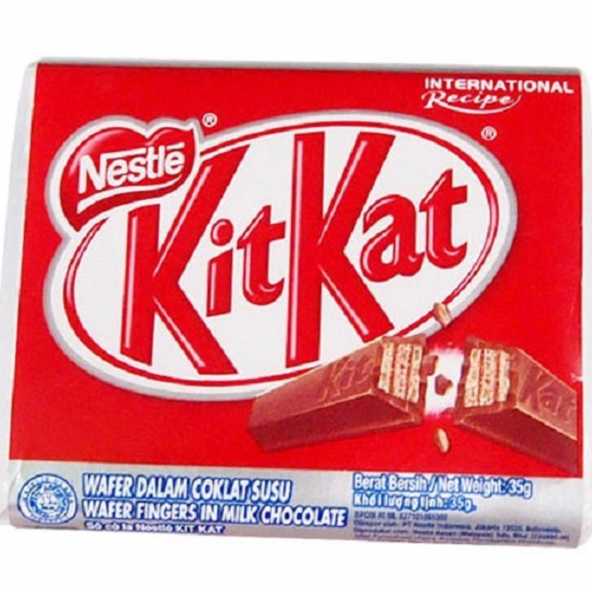 Cách mua Thanh Chocolate KitKat 4F