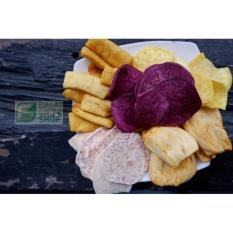 Thập cẩm rau củ quả sấy giòn không đường Đà Lạt (tiêu chuẩn xuất khẩu) cao cấp gói 500gr