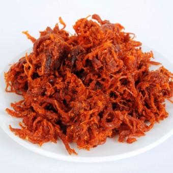Thịt bò khô sợi thơm ngon hảo hạng -khô bò cháy tỏi ớt 300g