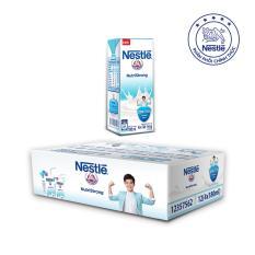 Thùng 12 lốc Sữa tiệt trùng NESTLÉ có đường (180ml/hộp) – tặng 01 túi xách mạnh mẽ