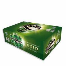 Chỗ bán Thùng 18 Lon Bia Huda Gold 330ml