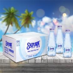 Thùng 24 Chai Nước Uống Tinh Khiết Sapuwa Diamond(330ml / Chai)