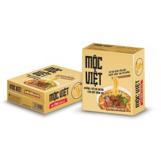 Giá KM Thùng 30 gói mì Mộc Việt vị Bò Hầm Rau Thơm