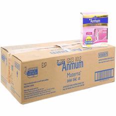 Thùng 48 hộp sữa Anmum Materna hương VANI dành cho bà mẹ mang thai (12 lốc x 4x 110ml)