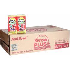 Thùng 48 Hộp Sữa Dành cho Trẻ Suy Dinh Dưỡng Nuti Grow+ 180Ml