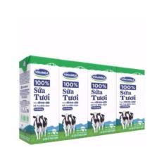 Thung 48 Hộp Sữa tươi tiệt trung Vinamilk 100% co đường 180ml