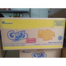 Thùng 24 bánh Gery phô mai gói 100gr (5 bánh nhỏ 20gr) nặng 2,4kg