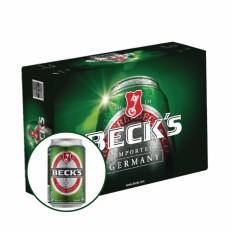 Thùng bia 24 lon Becks 330ml