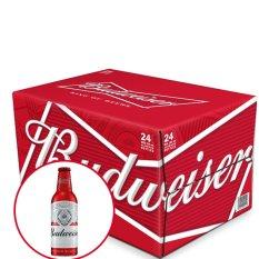 Thùng bia Budweiser Aluminum 24 chai x 355ml