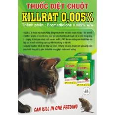 Thuốc diệt chuột Killrat 0.005% ( hộp 100gr )