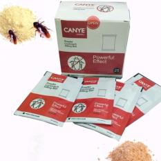 Thuốc diệt kiến, gián, côn trùng Canye dạng bột 25 gói