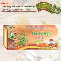 Nơi mua Trà Cỏ Ngọt Thảo Dược Cho Người Tiểu Đường Tặng 3 Gói Atiso X 2gr – Nguyên Thái Trang