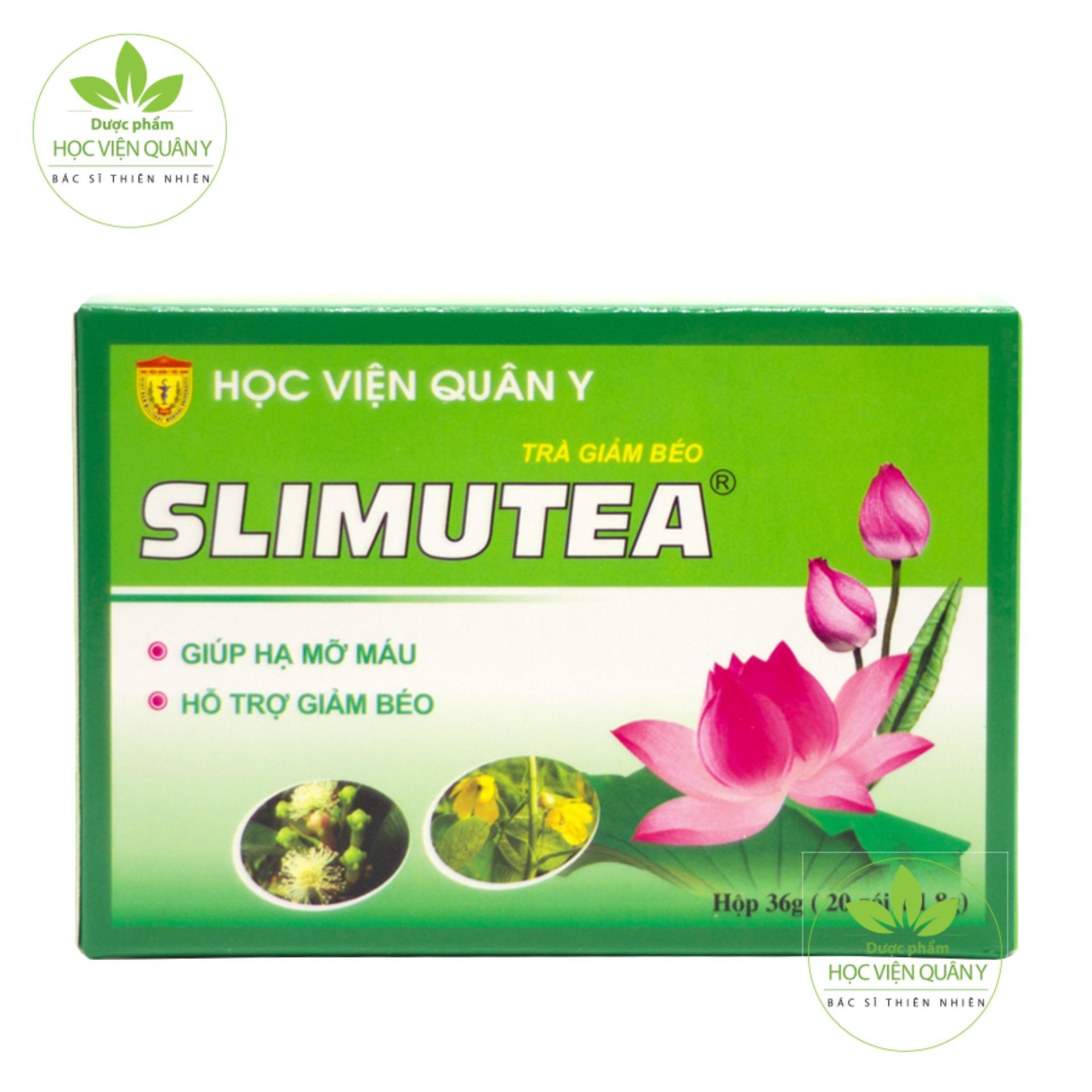 Trà giảm béo Slimutea - HVQY 20 gói trà