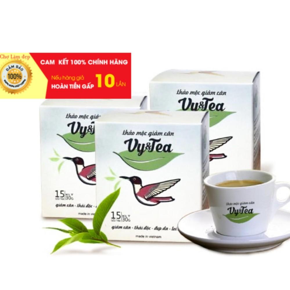 Trà Giảm Cân Vy & Tea - Hàng mới 2019 (Hàng công ty 100%)