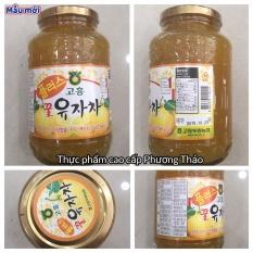 Trà mật ong chanh đào Hàn Quốc 1kg
