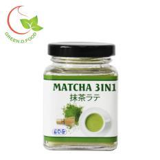 Trà matcha Nhật 3in1 (trà xanh sữa) – GreenD Food – Hũ 60g