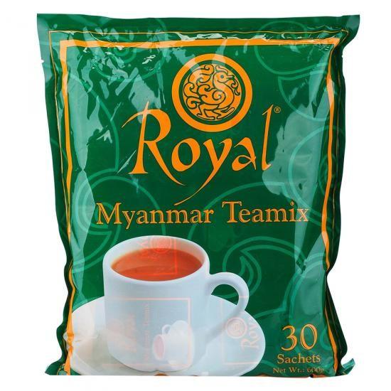 Trà sữa hòa tan Royal Myanmar Teamix (bịch 30 gói) - Hàng Myanmar